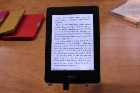 Kindle Paperwhite - Blueish Tint