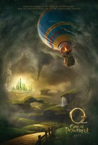 Oz the Great and Powerful (2013) movie poster