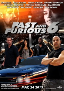 Fast and Furious 6 (2013) movie poster