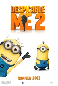 Despicable Me 2 (2013) movie poster