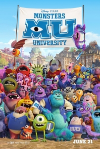 Monsters University (2013) movie poster
