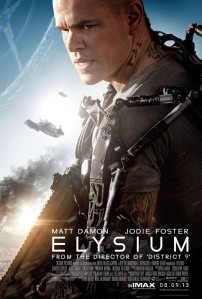Elysium (2013) movie poster