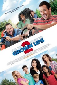 Grown Ups 2 (2013) movie poster