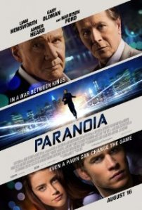 Paranoia (2013) movie poster