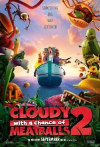 Cloudy with a Chance of Meatballs 2 (2013) movie poster