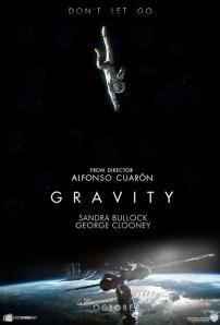 Gravity (2013) movie poster