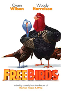 Free Birds (2013) movie poster