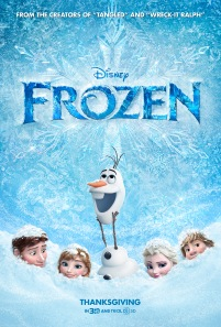 Frozen (2013) movie poster