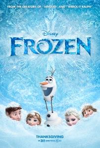 Frozen (2013) movie poster