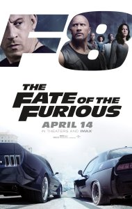 The Fate of the Furious (2017) movie poster